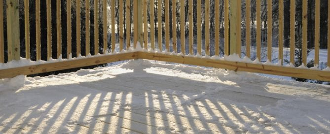 Protecting Your Deck From Snow 2