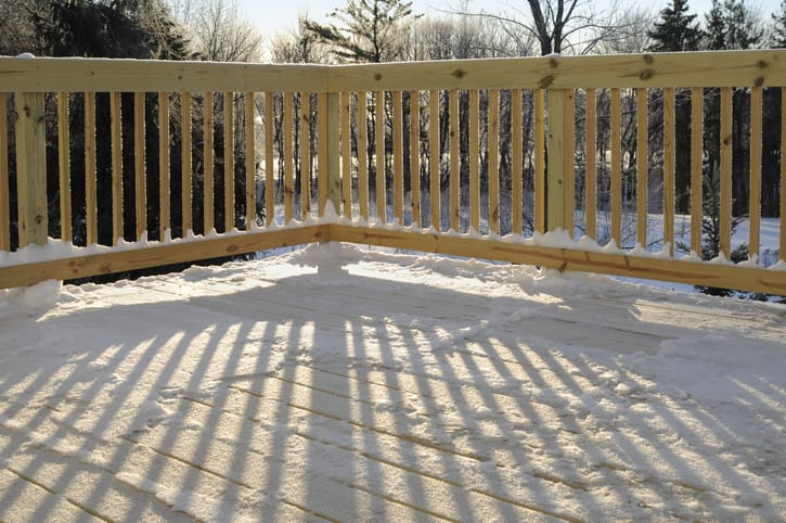 Protecting Your Deck From Snow 5